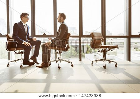 Businessman Office White Collar Worker Concept