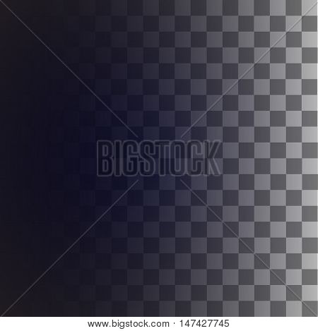 Editable seamless pattern for transparency picture, square background, stock vector illustration