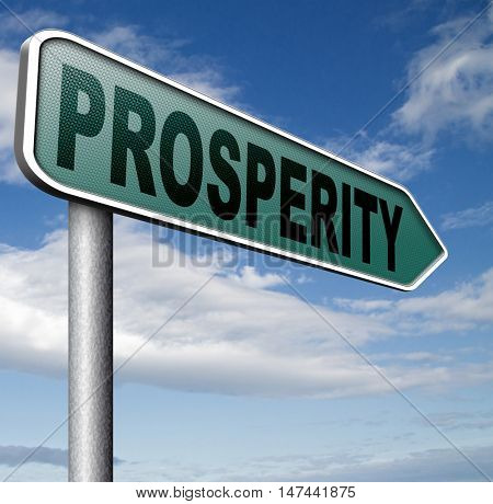 prosperity good fortune or luck 3D illustration