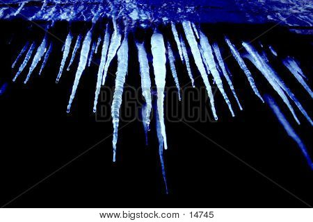 Icicles From Below