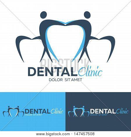 Dental logo. Dental clinic. Dentist Logo. Vector logo