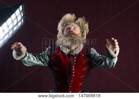 Portrait Of An Adult Man