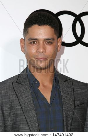 LOS ANGELES - SEP 15:  Alfred Enoch at the Audi Celebrates The 68th Emmys at the Catch on September 15, 2016 in West Hollywood, CA