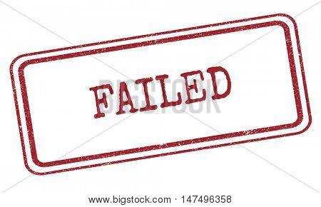Failed Break Down Fiasco Concept