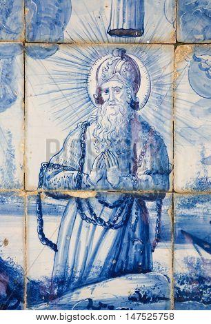 Azulejo - Saint In Chains