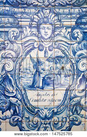 Azulejo - Guardian Angel