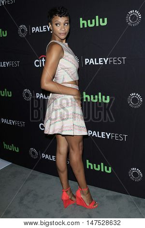 BEVERLY HILLS - SEP 11: Carly Hughes at the PaleyFest 2016 Fall TV Preview for ABC - American Housewife at The Paley Center for Media on September 10, 2016 in Beverly Hills, CA