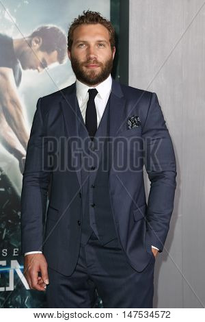NEW YORK-MAR 16: Actor Jai Courtney attends the U.S. premiere of