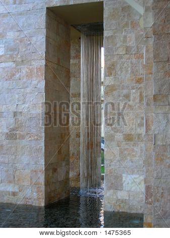Water Between Columns