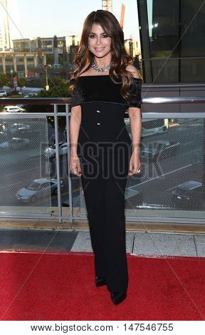 LOS ANGELES - SEP 10:  Paula Abdul arrives to the Celebration of Dance Gala 2016 on September 10, 2016 in Hollywood, CA