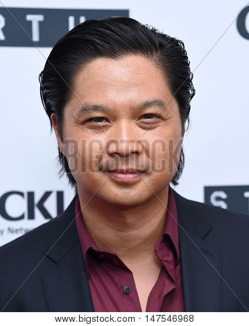 LOS ANGELES - SEP 23:  Dat Phan arrives to the Crackle's Original Series