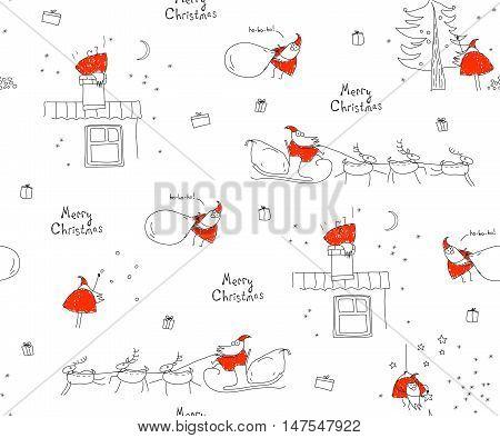 Санта Клаусы - коллекция