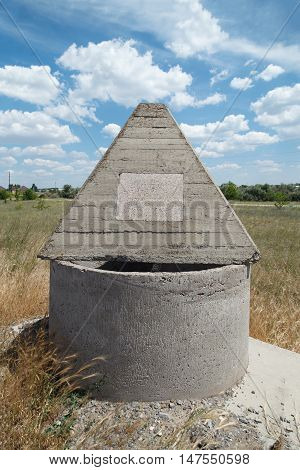 Monument Concrete Pyramids