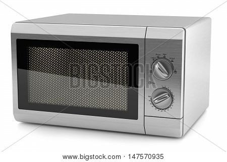 Microwave Metal Kitchen 3D