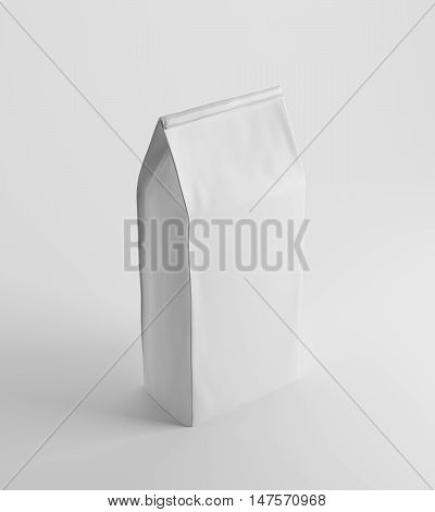 White Lunch Paper Bag On White Surface