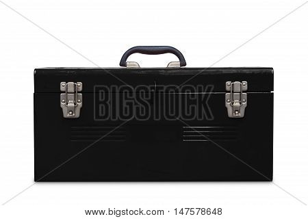 Old Black Toolbox