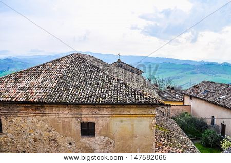 Hdr Castello Scipione Aka Castello Pallavicino Castle In Salsoma