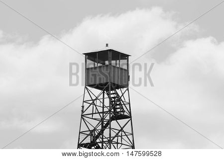 Fire watch tower at Tucker Hill Day Use Area in Florida.