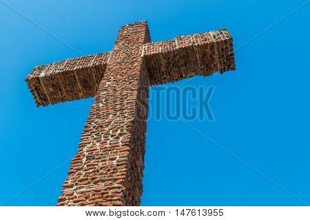 Padre Cross in Presidio Park in Old Town, San Diego, California