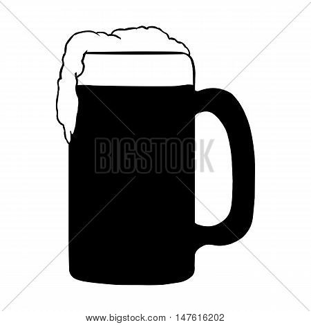 Vector Tankard Of Beer