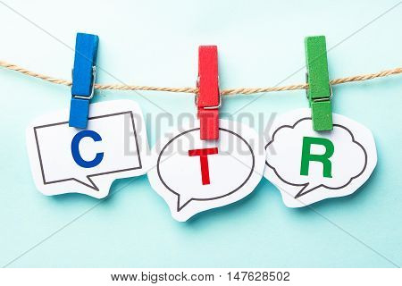 Ctr Bubble Word