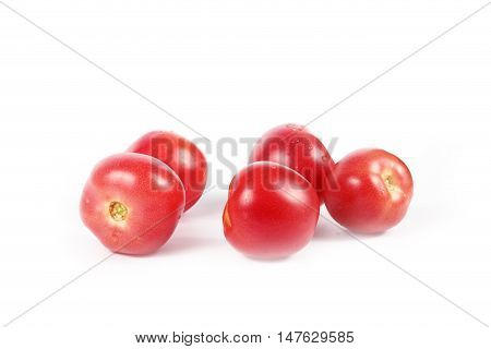 ripe fresh tomatoes as part of a healthy food