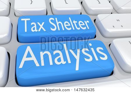 Tax Shelter Analysis Concept