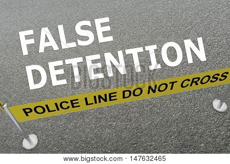 False Detention Concept