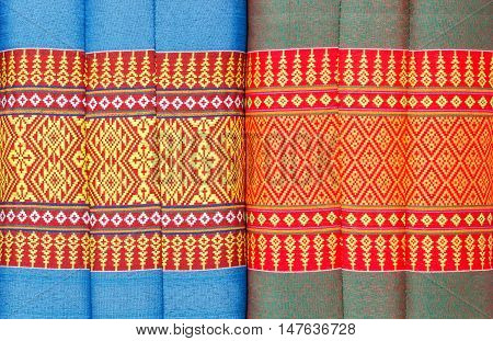Tradition native Pattern, beautiful Thai style pillow.