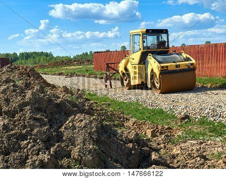 Construction Machinery Compactor