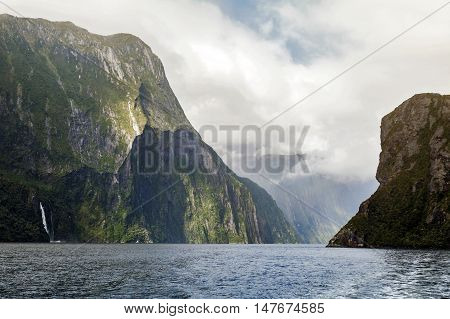 Milford Sound / Piopiotahi, A Fiord In The South West Of New Zealand's South Island, Within Fiordlan