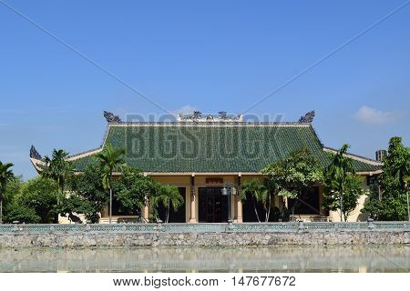The Memorial Of Literature Temple In Vietnam