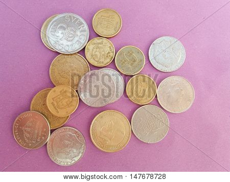 Swedish And Danish Coins