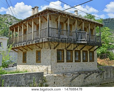 An historic building in the southern city of Stolac in Herzegovina Bosnia and Herzegovina