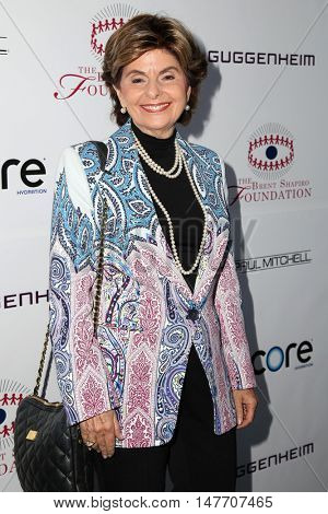 LOS ANGELES - SEP 17:  Gloria Allred at the Brent Shapiro Foundation for Alcohol and Drug Prevention at the Private Residence on September 17, 2016 in Beverly Hills, CA