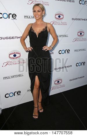 LOS ANGELES - SEP 17:  Kym Johnson at the Brent Shapiro Foundation for Alcohol and Drug Prevention at the Private Residence on September 17, 2016 in Beverly Hills, CA