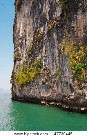Rock reliefs thai stone texture beautiful monumentally