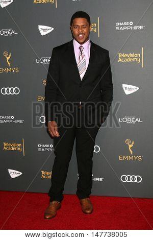 LOS ANGELES - SEP 16:  Pooch Hall at the TV Academy Performer Nominee Reception at the Pacific Design Center on September 16, 2016 in West Hollywood, CA