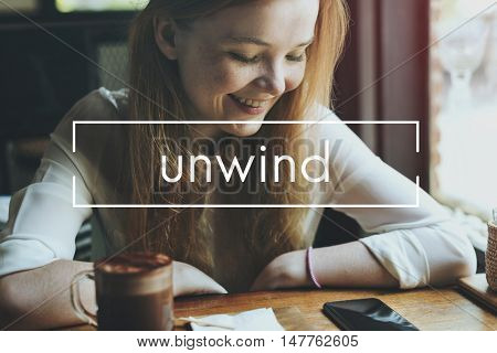 Calm Simmer Unwind Free Chill Concept