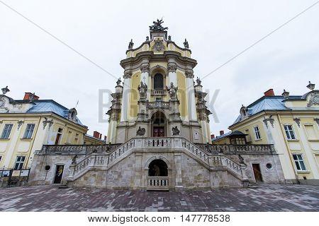 St. George's Cathedral in Lviv. Ukraine. 1744-1762.