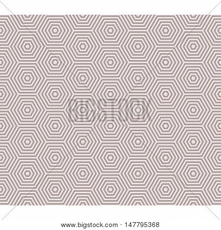 line hexagon inside outline seamless pattern, illusion theme background