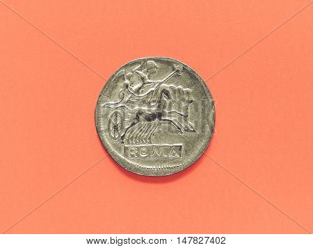 Vintage Ancient Roman Coin
