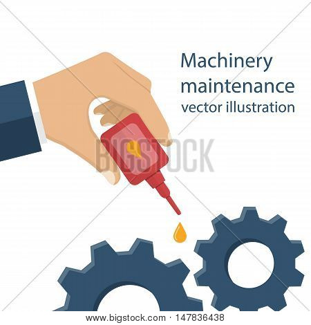 Machinery Maintenance Vector