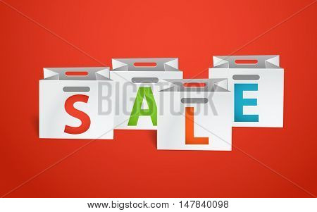 Sale promo banner template