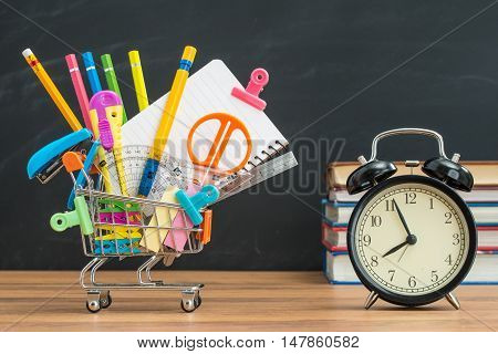 Time For Back To School Don't Be Late And Over Sleeping