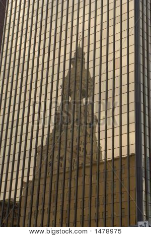 Reflection Of Tower