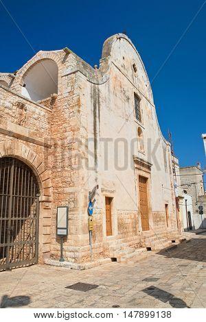 Church of Maddalena. Sammichele di Bari. Puglia. Italy.
