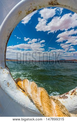 Mooring Line Lake Powell Ferry
