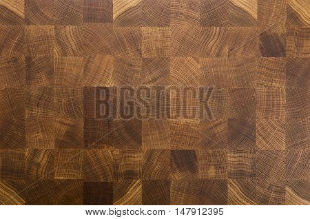Oak Wood Butcher End Grain Chopping Block Board