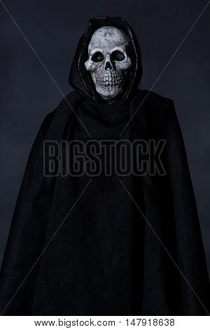 Scary Halloween character of the Grim Reaper character